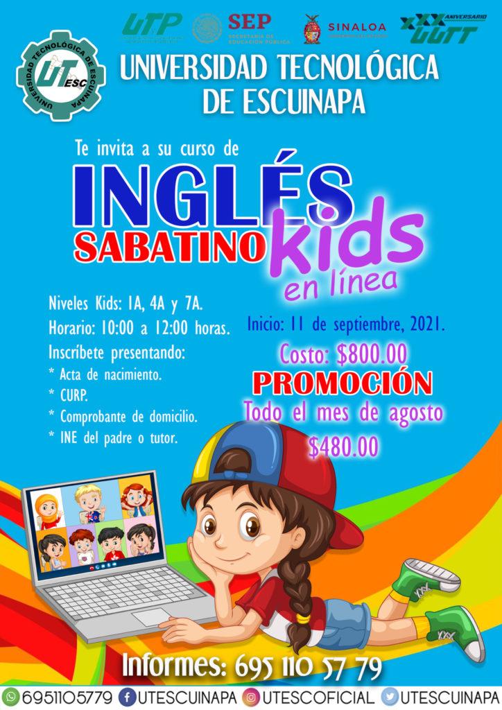 poster ingles kids SEP2021